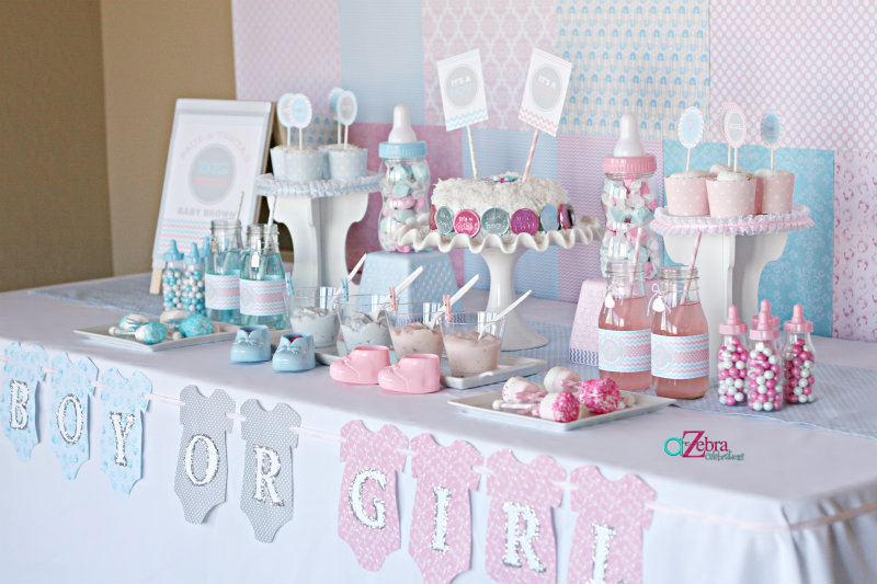 Gender Reveal Baby Shower Ideas 800 x 533