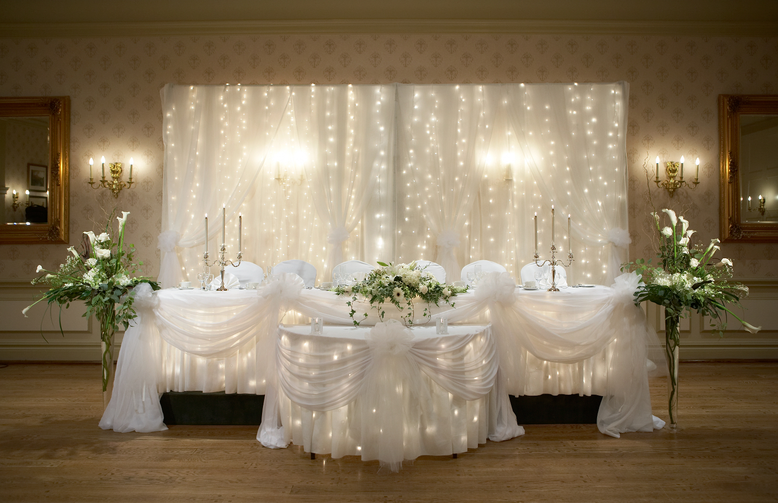 Wedding chapel decor packages at the old mill toronto for Decoration wedding